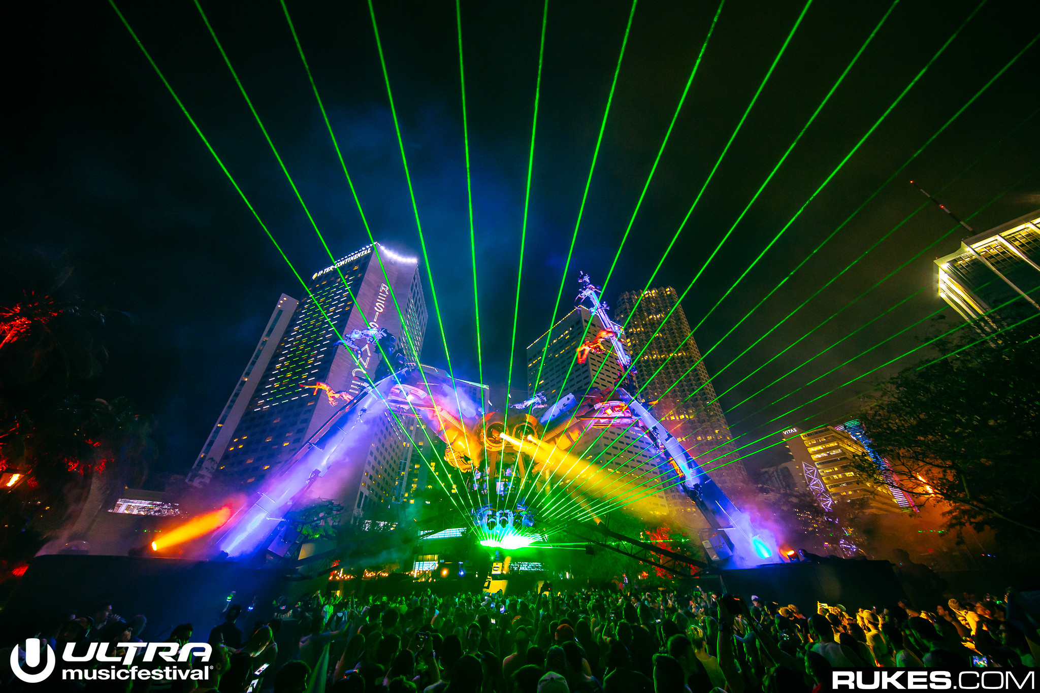 Rukes for Ultra Music Festival 2