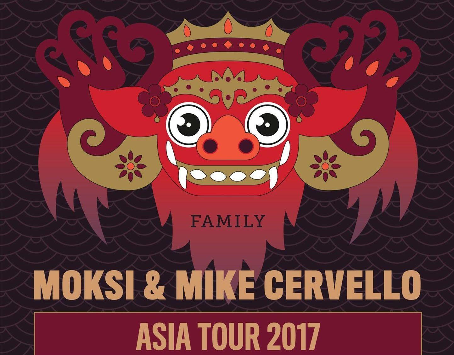 「Barong Family」ツアーが日本で実現!MoksiとMike CervelloがダブルヘッドライナーとしてageHaに登場!