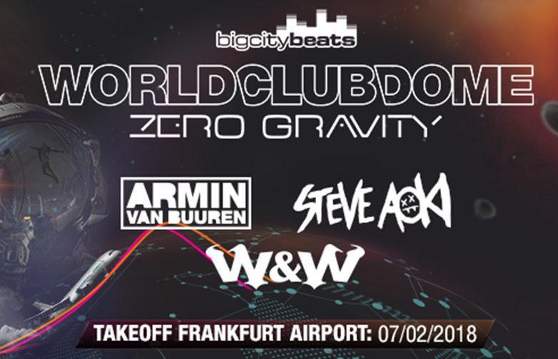 無重力空間でクラブイベント!?そんな夢みたいなイベント「WORLD CLUB DOME Zero Gravity」が開催!!