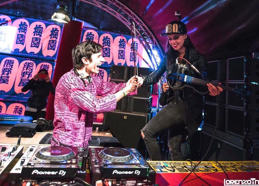 KSHMRとも共演!DJ×ヴァイオリンの斬新セットが話題のフィメールDJ、Mariana BOとは!