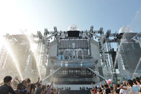 世界一ずぶ濡れになる音楽フェス「S2O JAPAN 2019」の会場エリアマップが公開!