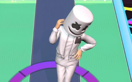 Marshmelloがニューアルバムとともに公式モバイルゲーム「Marshmello Music Dance」を発表!