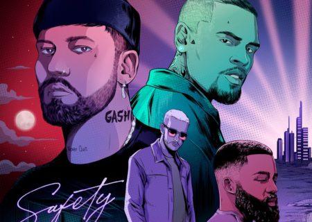 "DJ SnakeらがプロデュースしたGASHIの""Safety""のリミックスが公開!Chris BrownとAfro Bが参加!"