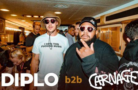 DiploとCarnageがマイアミのクラブで10時間にも及ぶB2Bセットを披露!
