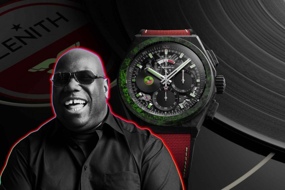 スイスの高級時計ブランド「ゼニス」がCarl Coxとの限定コラボレーションモデルを発表!