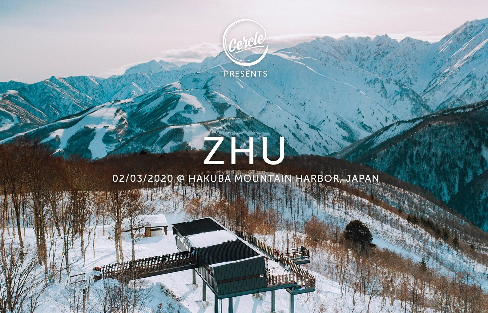 ZHUも出演決定!ライブストリーミングメディア「Cercle」×「Snow Machine」のイベントに登場!