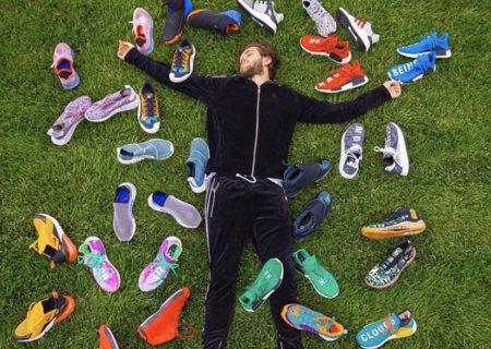 さすがに買い過ぎ!?スニーカー好きであるZeddの靴専用のクローゼットが限界寸前!?