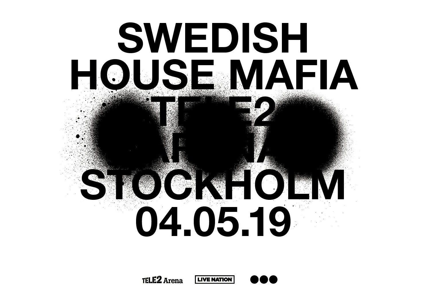 Swedish House Mafiaが記者会見をライブ配信!まず母国であるスウェーデンでのショーが決定!