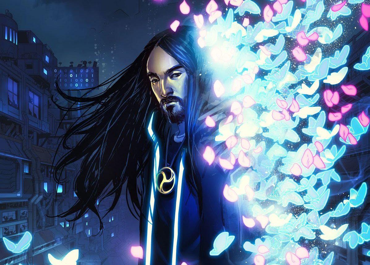 漫画好きとして知られるSteve AokiがSFコミックシリーズ『Neon Future』をスタート!