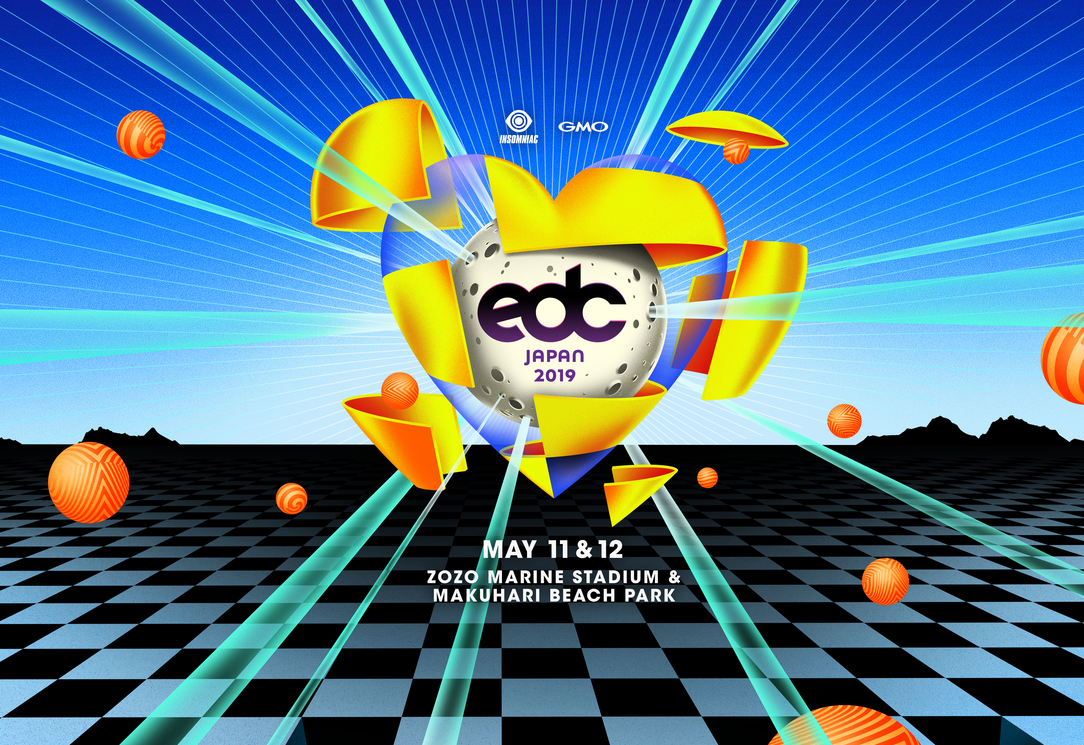 「EDC JAPAN 2019」開催決定!豪華な第1弾ラインナップも近日発表!