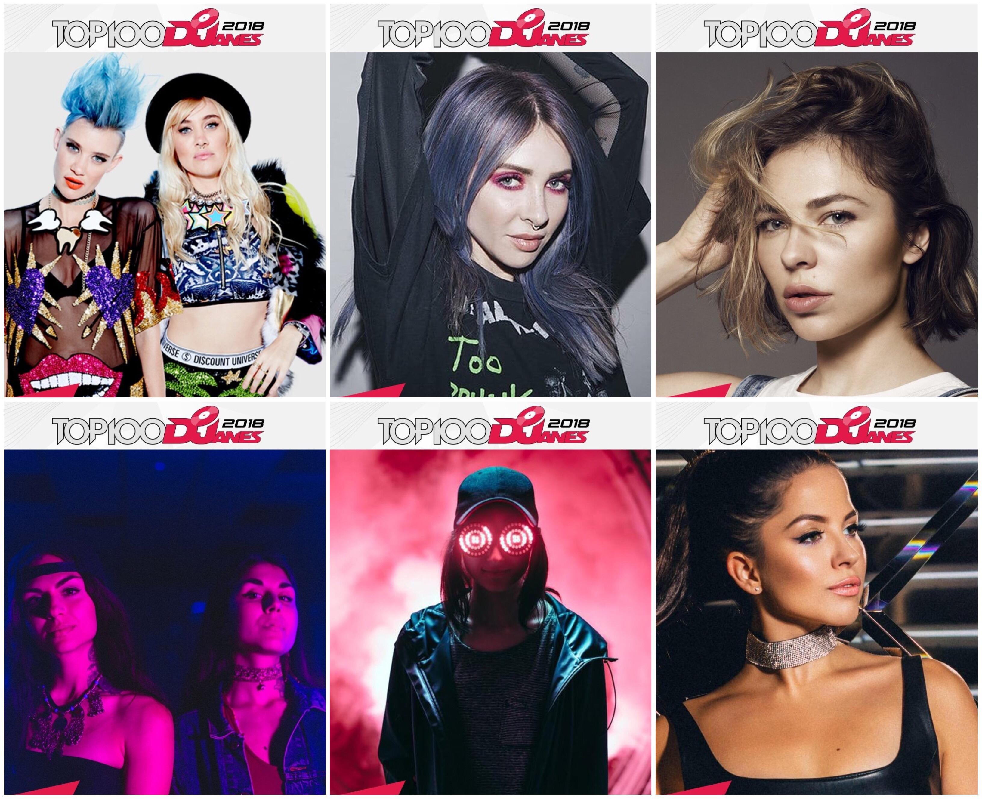 世界の女性DJランキング「Top100DJanes」と日本の女性DJランキング「Top40DJanes」が発表!