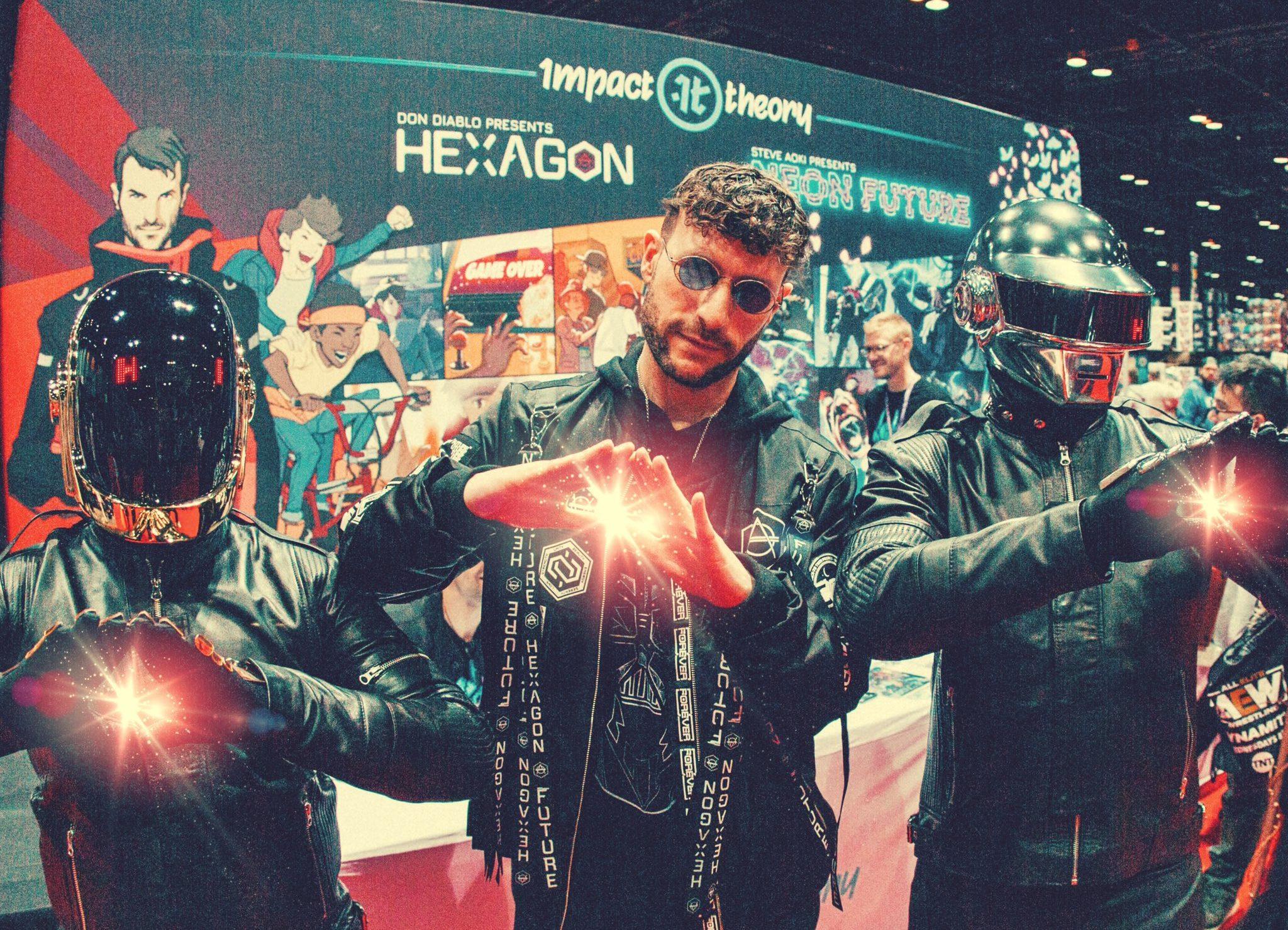 Don DiabloとDaft Punkが共演!?SFコミックシリーズ『HEXAGON』もついに発売決定!